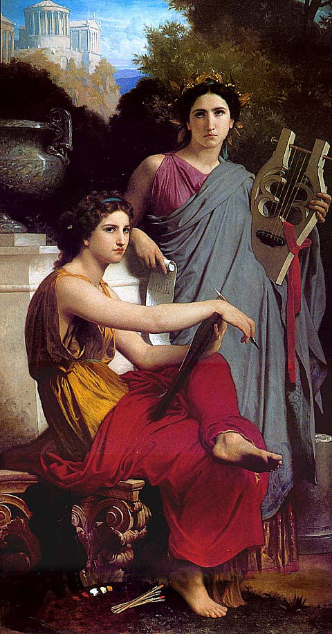 William Adolphe Bouguereau-Art And Literature