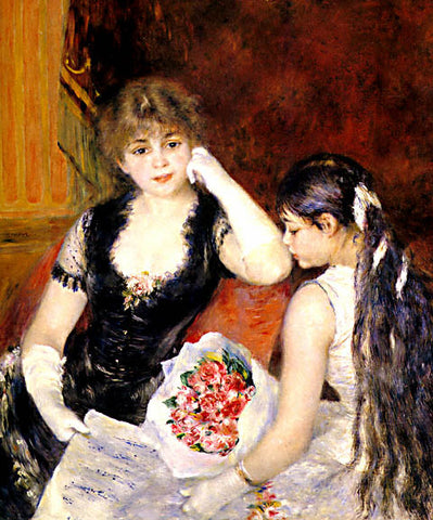 Pierre Auguste Renoir-At The Concert