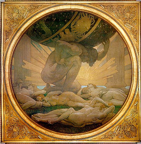 John Singer Sargent-Atlas And The Hesperides