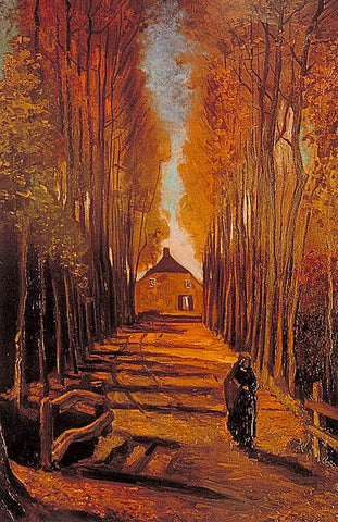 Vincent Van Gogh-Autumn 1884