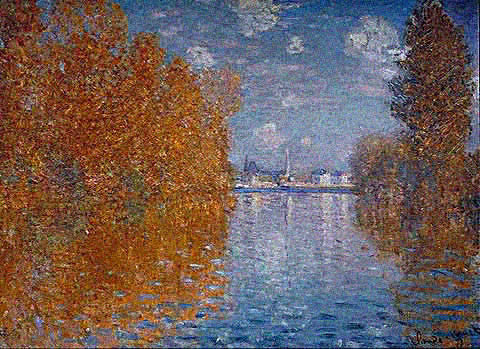 Claude Monet-Autumn Effect at Argenteuil 1873