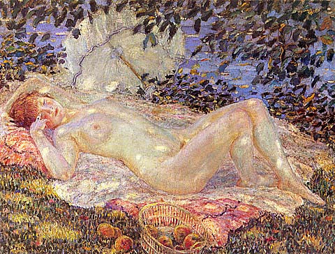 Frederick Frieseke-Autumn