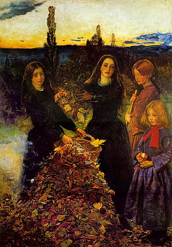 John Everett Millais-Autumn Leaves