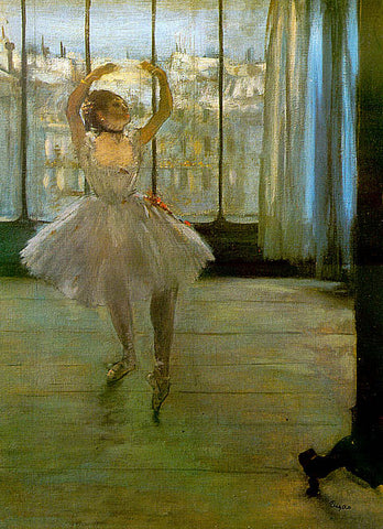 Edgar Degas-Ballerina Posing For A Photograph