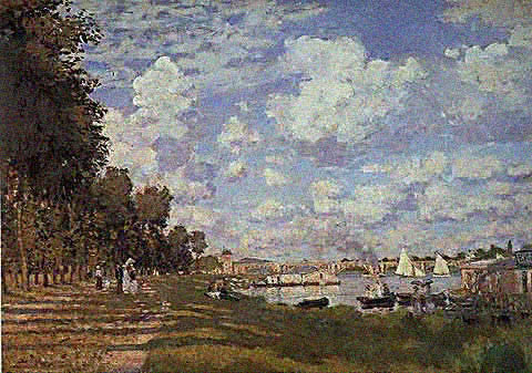 Claude Monet-Basin at Argenteuil 1872
