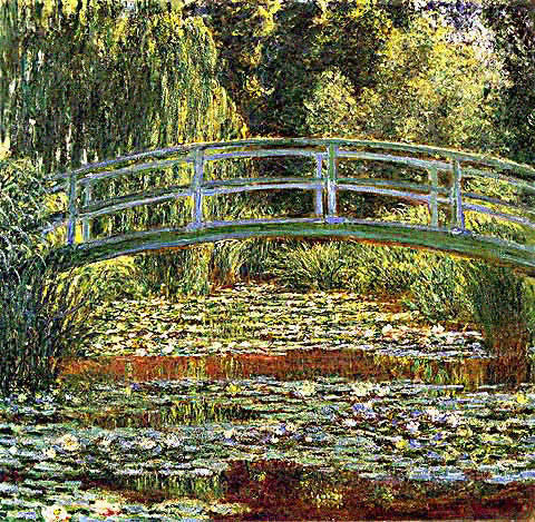 Claude Monet-Bassin Aux Nympheas