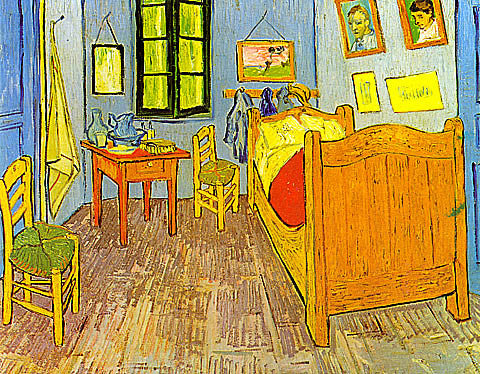 Vincent Van Gogh-Van Gogh Bedroom At Arles