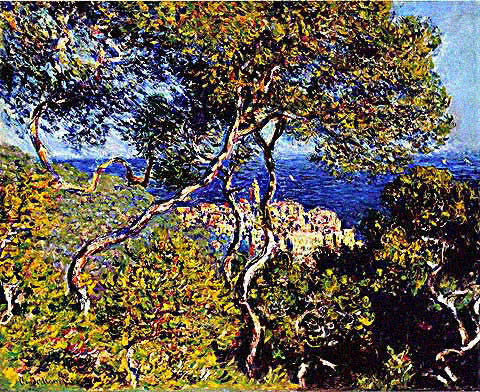 Claude Monet-Bordighera