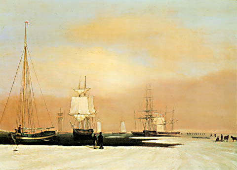 John Blunt-Boston Harbor 1830 By
