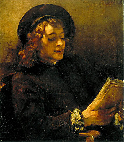 Rembrandt-Boy Reading 1657