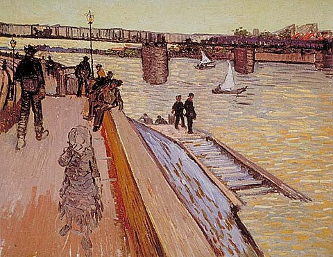 Vincent Van Gogh-Bridge 1888