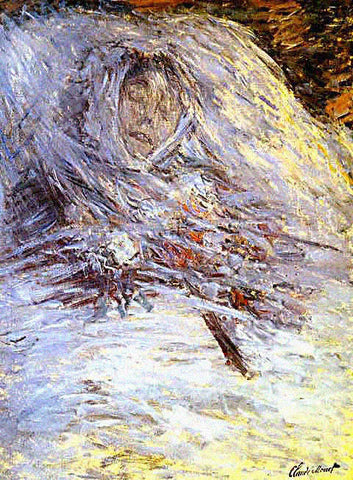 Claude Monet-Camile on Her Deathbed