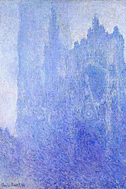 Claude Monet-Cathedral in the Fog