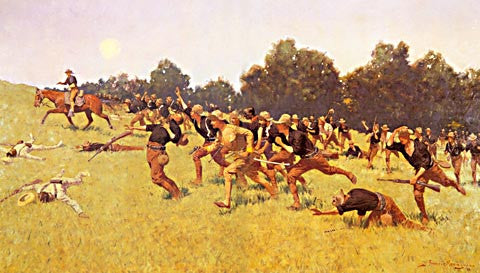 Frederic Remington-Charge Of The Rough Riders At San Juan Hill