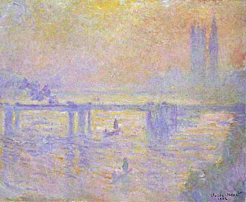 Claude Monet-Charing Cross Bridge 1902