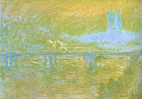 Claude Monet-Charing Cross Bridge 1899