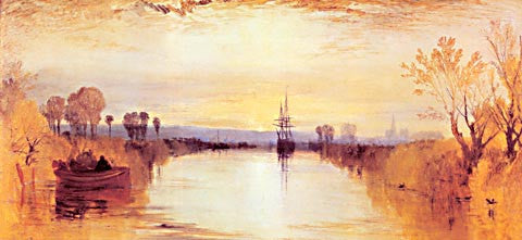 Joseph Mallord William Turner-Chichester Canal 1828