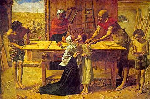 John Everett Millais-Christ In The House Of His Parents