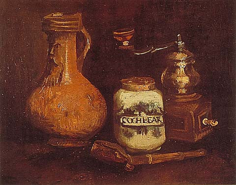 Vincent Van Gogh-Coffee Mill 1884