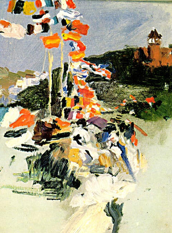 Joaquin Sorolla-The Equestrian Contest At Ondarreta