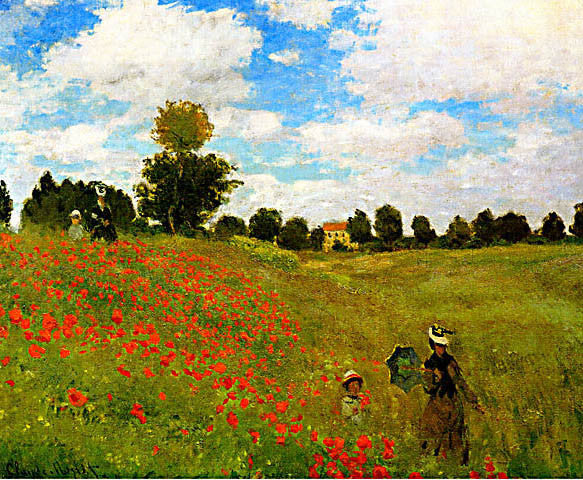 Claude Monet-Wild Poppies
