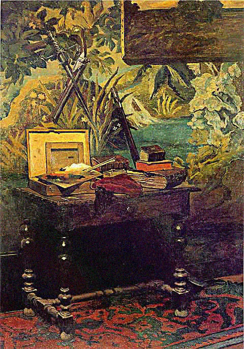 Claude Monet-Corner of a Studio