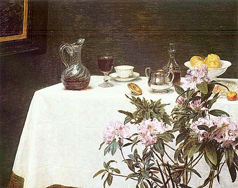 G. De La Tour-Corner Of A Table