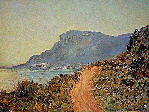 Claude Monet-Cornish De Monaco 1884