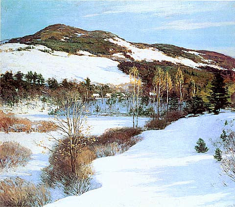 Willard Metcalf-Cornish Hills