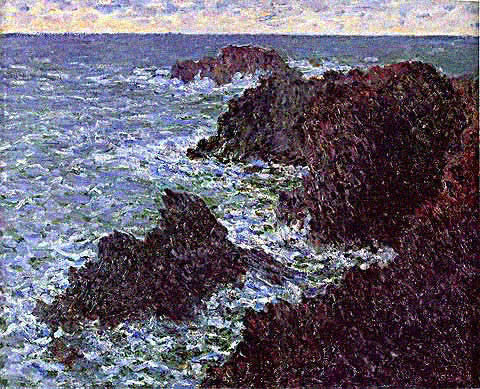Claude Monet-Cote Sauvage