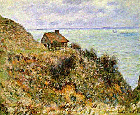 Claude Monet-Custom Officers Cabin
