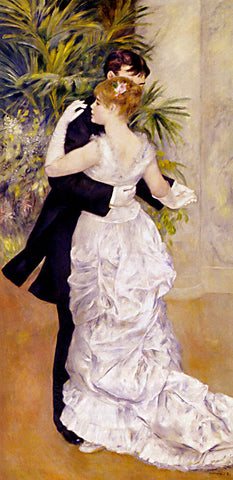 Pierre Auguste Renoir-Dance In The City 1883