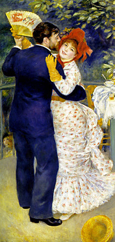 Pierre Auguste Renoir-Dance In The Country