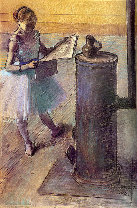 Edgar Degas-Dancer Resting