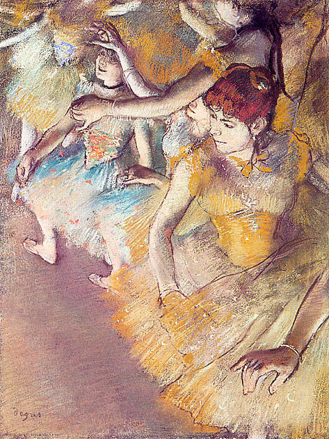 Edgar Degas-Dancers On The Stage