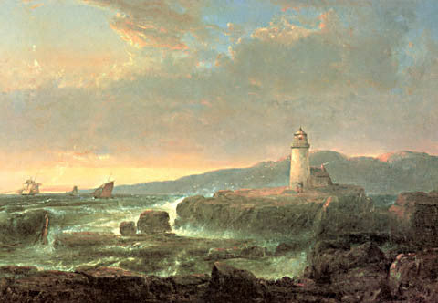 Thomas Doughty-Desert Rock Lighthouse 1847