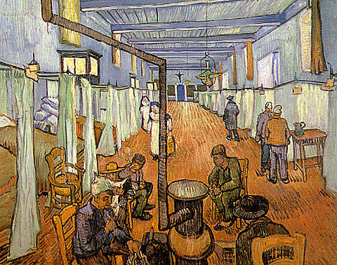 Vincent Van Gogh-Dormitory In The Hospital