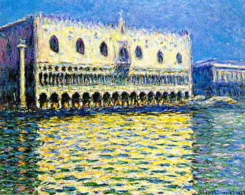 Claude Monet-Ducal Palace Venice