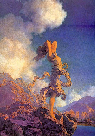 Maxfield Parrish-Ecstasy