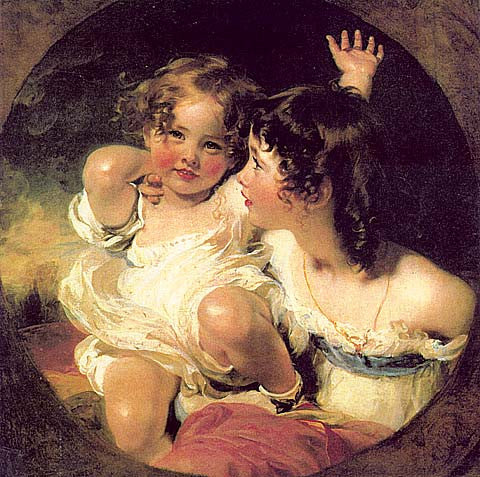 Thomas Lawrence-Emily And Laura Calmady
