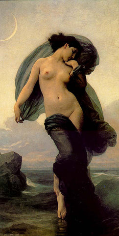 William Adolphe Bouguereau-Evening Mood