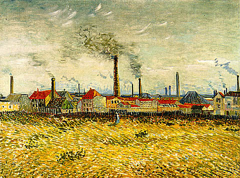 Vincent Van Gogh-Factories At Asnieres