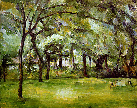 Paul Cezanne-Farm In Normandy Summer
