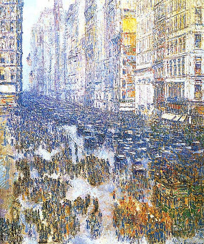 Childe Hassam-Fifth Avenue