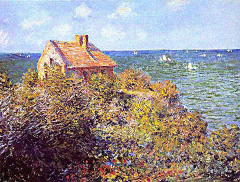 Claude Monet-Fishermans House at Varengeville