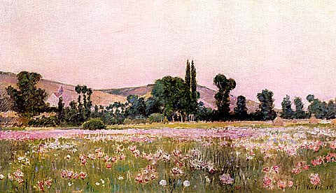 Theodoro Wendel-Flowering Fields