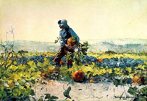 Winslow Homer-For To Be A Farmer