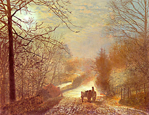 John Atkinson Grimshaw-Forge Valley 1875