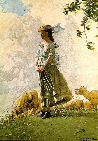 Winslow Homer-Fresh Air