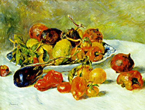 Pierre Auguste Renoir-Fruits Of The Midi 1881